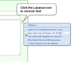 lazarus-form-recovery