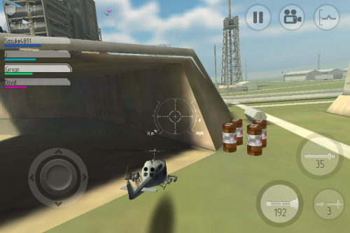 場景,你可以飛往室內
