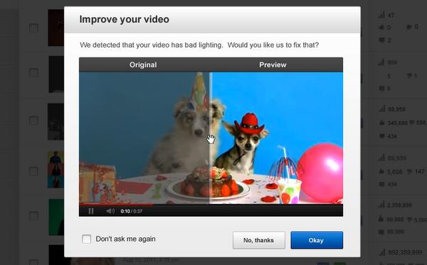 當youtube偵測到你的影片可能需要被修復,會跳出警告