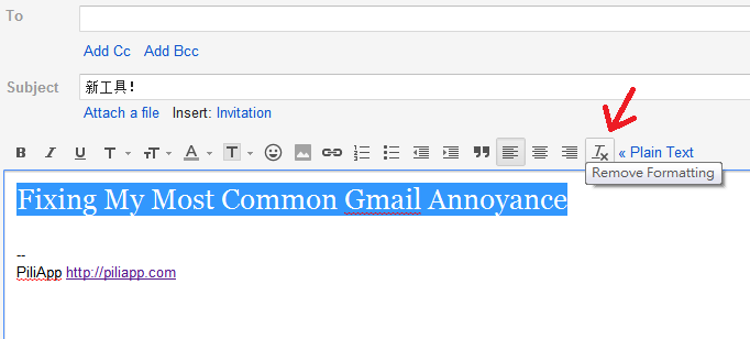 Gmail 有相關選項,當然,在Word也有類似的選項。