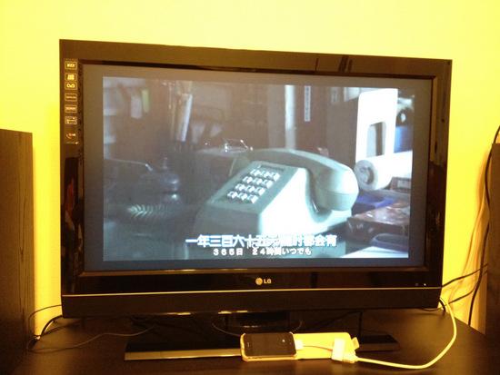 iphone 4 接電視看影片,pps 可以正常播放,其它的如上面所述。