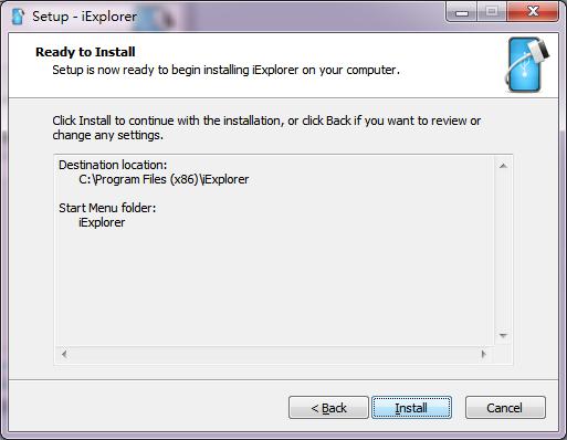 安裝過程都沒有任何選項,按 4 次 next ,再加一次 install 就可以了。