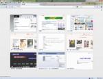 原本 Firefox 按 Ctrl + T 來開啟新分頁的介面